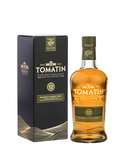 Whisky Tomatin - 12 ans - 70cl