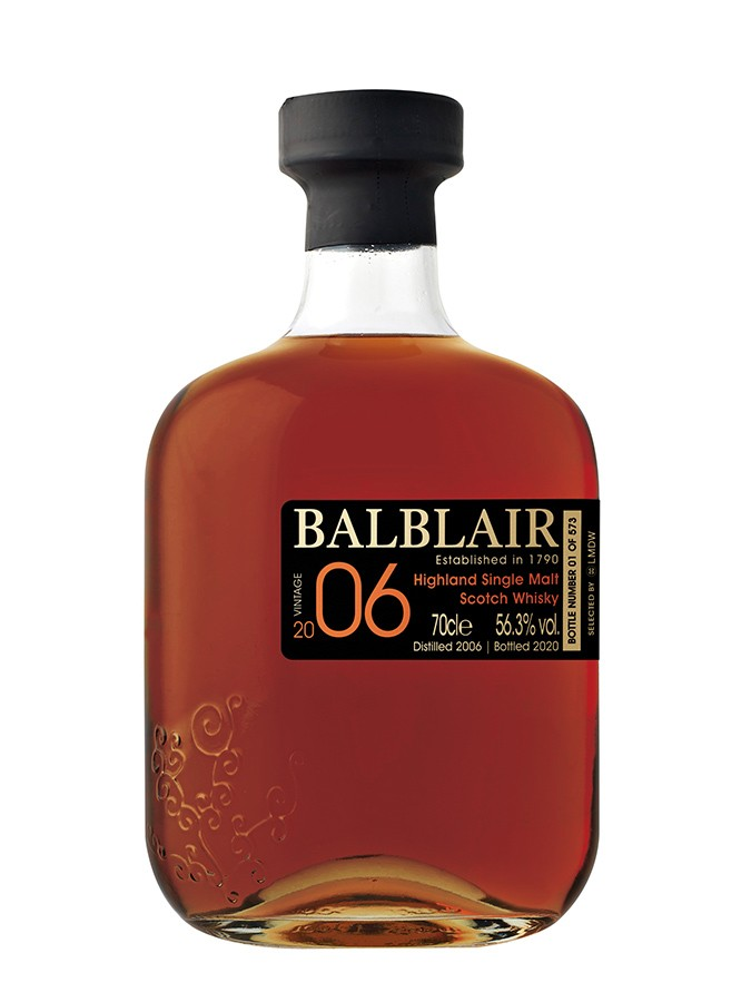 Whisky Balblair - 14 ans - 2006 - Single Cask Sherry - LMDW French Connections