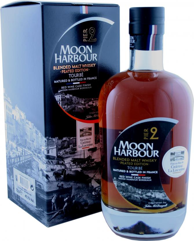 Whisky Moon Harbour PIER2 - La louvière cask finish - 70cl